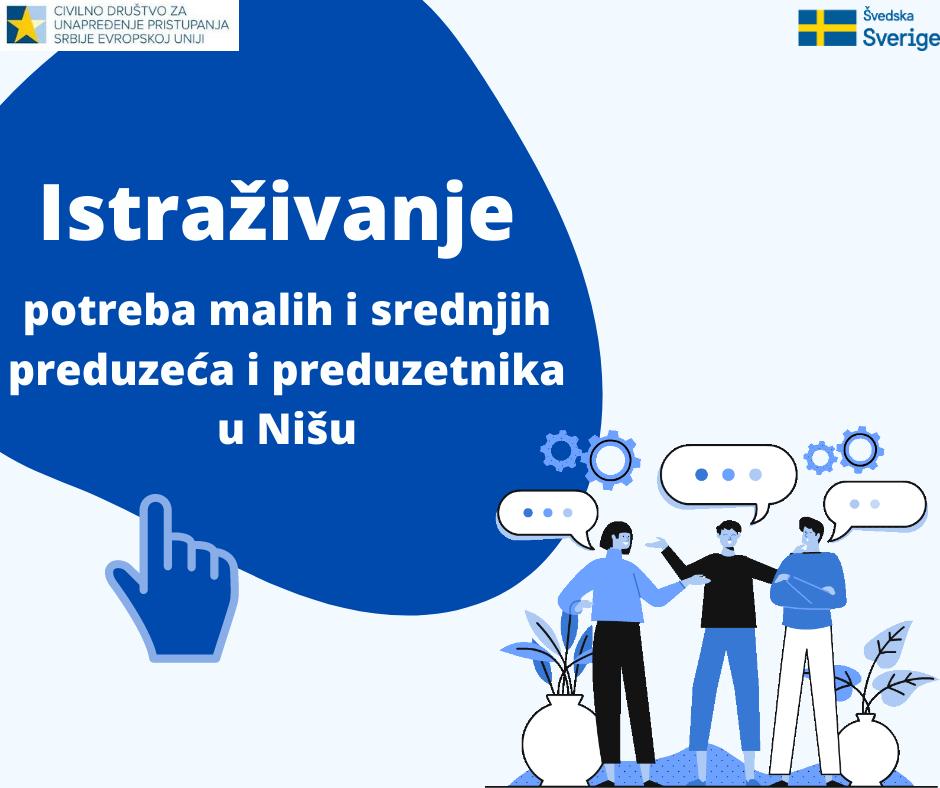 Istra+żivanje potreba malih i srednjih preduze¦ça u Ni+íu